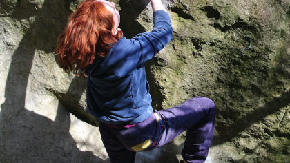 Lisa Alhadeff: Finally Bouldering In Font - Part Four