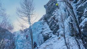 Ice Falls: Close Calls