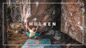 ROTPUNKT Star Alexander Megos Climbing One Of Swedens BEST 8A+ / V12 Boulders 'HULKEN' In 2016