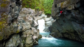First Ascent - Pool of Death, Squamish, BC
