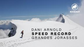 Dani Arnold - Speed Record On The Grandes Jorasses North Face