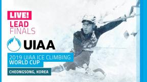 LIVE! Cheongsong, South Korea l Lead Finals l 2019 UIAA Ice Climbing World Cup