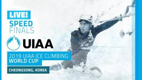 LIVE! Cheongsong, South Korea l Speed Finals l 2019 UIAA Ice Climbing World Cup