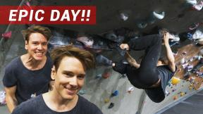 CRAZY! Best Climbing Session In 3 YEARS - Eric Vs His Projects