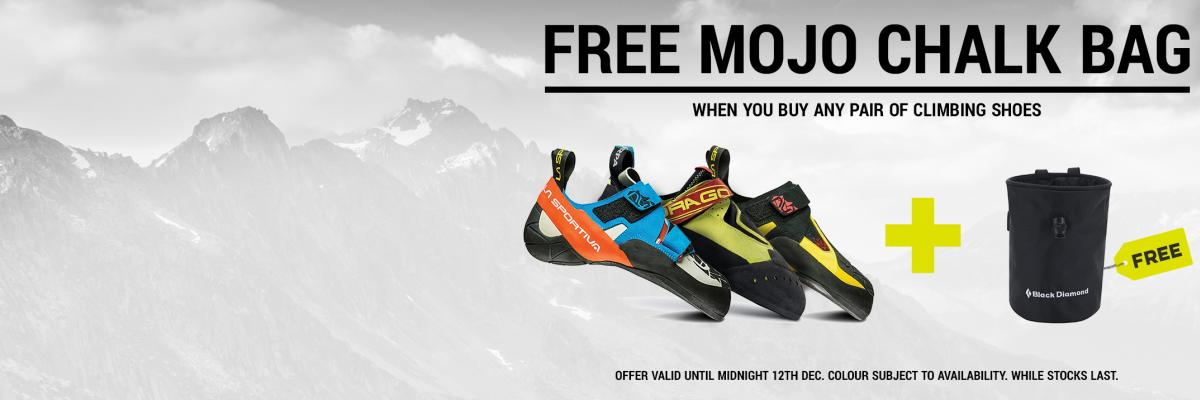 Free Gift With Every Pair Of Climbing Shoes At The EpicTV Shop