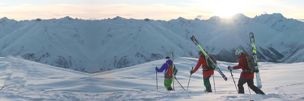Ski Touring Lessons Lead To Insane Virgin Powder Lines In Italy