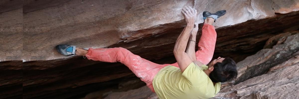Cave Bouldering In The Grampians; Flashing 7C+ And Sending 8A