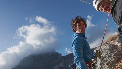 Via Mamma Sandra (7b+) - Una NUOVA VIA in Dolomiti