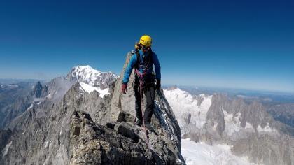 attraversata cresta ovest Grandes Jorasses e pensieri liberi sull'ALPINISMO
