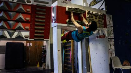 Front Lever - Alessandro Palma