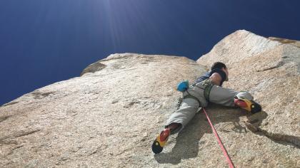 La Sportiva Genius on Chamonix's Digital Crack