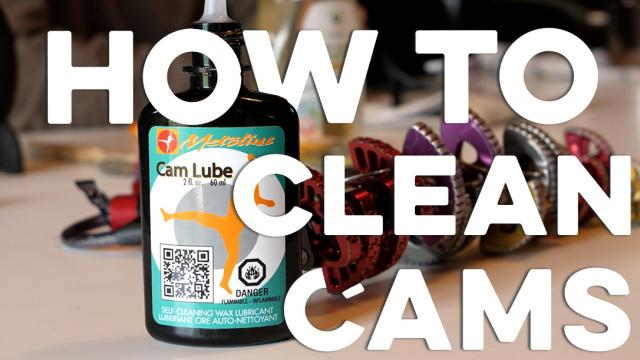 How To Clean Climbing Cams