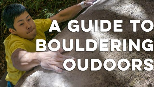 How To Get Started Bouldering Outdoors