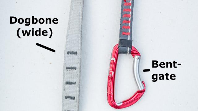 What Are Sport, Trad, and Alpine Climbing Quickdraws?