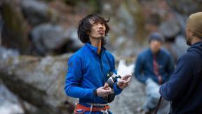 Sachi Amma On Onore Bouldering V10 at Okutama near Tokyo