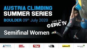 Austria Climbing Summer Series - Semifinals Women