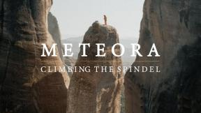 Rock Climbing In Meteora - Unbelievable Tower Multi Pitch In North Of Greece