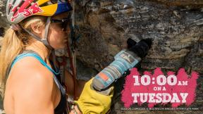 HOW TO BOLT - DEVELOPING CLIMBING in BREAKS, VA - SASHA DIGIULIAN // 10am on a TUESDAY (S2Ep6)