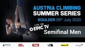 Austria Climbing Summer Series - Men's Semi-Finals, Innsbruck