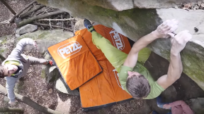 Chris Sharma Introducing Pol Roca On