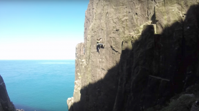 Road To Nowhere And Rockafella: Two E7 6c First Ascents In Northern Ireland