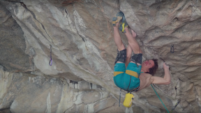 Adam Ondra Projects The World's First Potential 9c