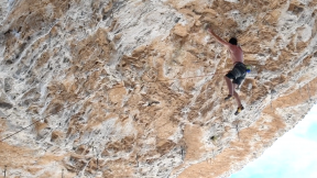 Jonathan Siegrist And Alex Honnold Climb The Clear Light Cave In Nevada