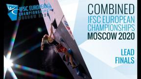 IFSC European Championships Moscow 2020 - Combined Lead Finals