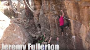 Bouldering Party in Roy, New Mexico