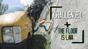 The Floor is Lava | Cook+Climb® Challenge Ep.(01)