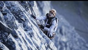 SASHA DIGIULIAN - FIRST FEMALE ASCENT ON NORTH FACE OF EIGER with climbing partner CARLO TRAVERSI