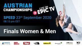 Austrian Climbing Championships 2020 | SPEED FINALS
