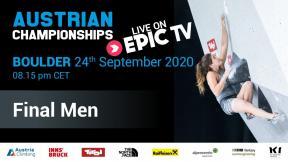 Austrian Climbing Championships 2020 | MEN'S BOULDER FINAL