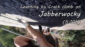 Learning to Crack Climb on Jabberwocky