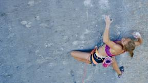 Margo Hayes Makes History - First Woman To Climb Biographie, 5.15