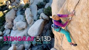 Stingray 5.13d, Joshua Tree National Park
