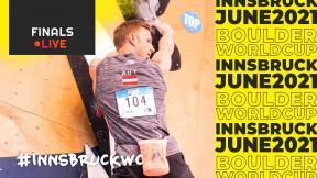 IFSC Boulder World Cup Innsbruck 2021 || Men's and women's finals