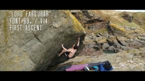 """Lord Farquhar"" Font 8b+ / V14 First Ascent"