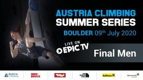 Austrian Climbing Summer Series - Men's Final, Innsbruck
