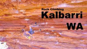 Climbing In Crazy Gorge - Kalbarri WA, Vlog #2