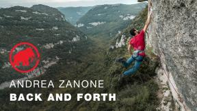 Andrea Zanone - Back and Forth full movie - A climbing documentary