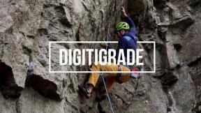 Sport climbing Digitigrade (6c/5.11b) at Gothenburg in Sweden