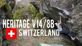 Heritage, V14/8B+ - Week 1 Switzerland