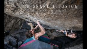 The Grand Illusion (V16) First Ascent