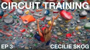 CIRCUIT TRAINING (CLIMBING) - CECILIE SKOG | PROJECT 7B+