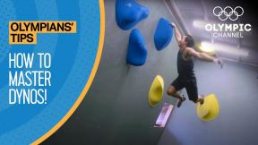 Mastering Dynos in Climbing feat. Sean McColl | Olympians' Tips