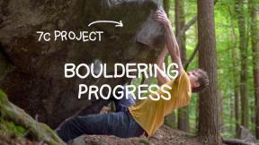 I fell off this bouldering move hundreds of times