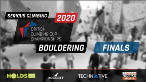 Serious Climbing Distribution - British Climbing Cup Championships - Finals