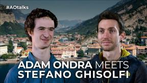 Adam Ondra and Stefano Ghisolfi talk | Satisfaction of bolting and repeating climbing routes | Arco