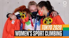 Women's sport climbing | Tokyo Replays